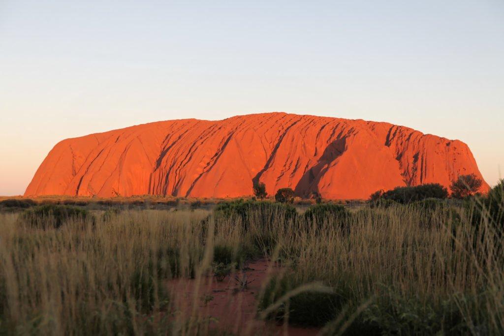 Ayers Rock Uluru, Nothern Territory, Australie